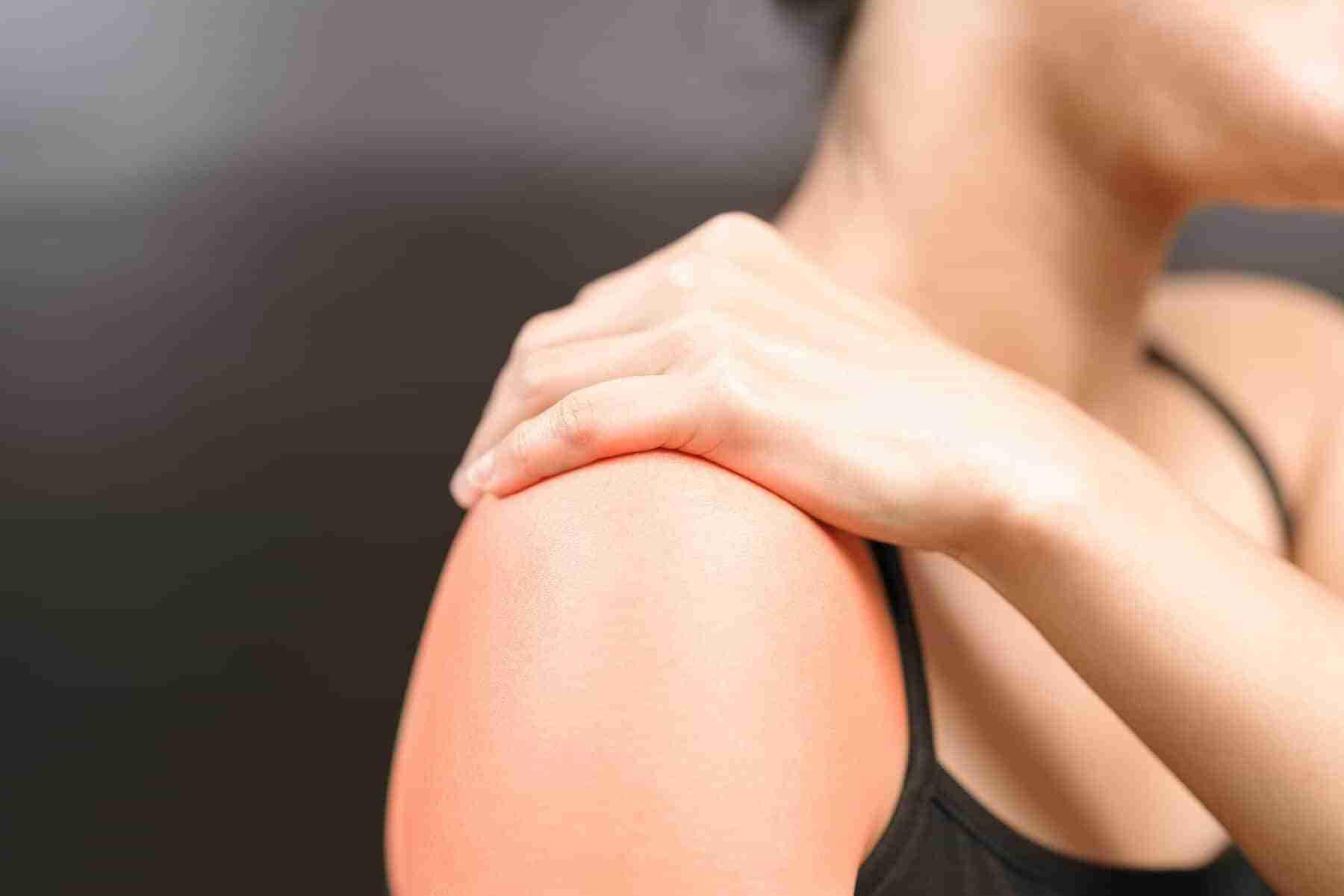shoulder pain after sleeping