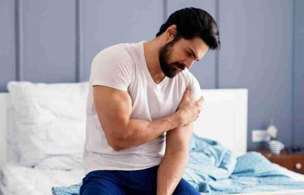 shoulder pain at night